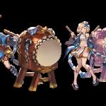 【これグラ色々】新Extraジョブ・ドラムマスターでふんどし姿のジータちゃん!!他(グラブル日記)